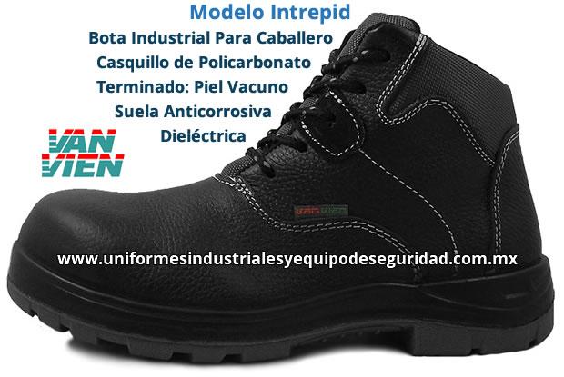 95b941a4bd Calzado Industrial Suela Anticorrosivba y Dielectrica VanVien - Modelo  Intrepid - Mayoreo y Menudeo - Casquillo